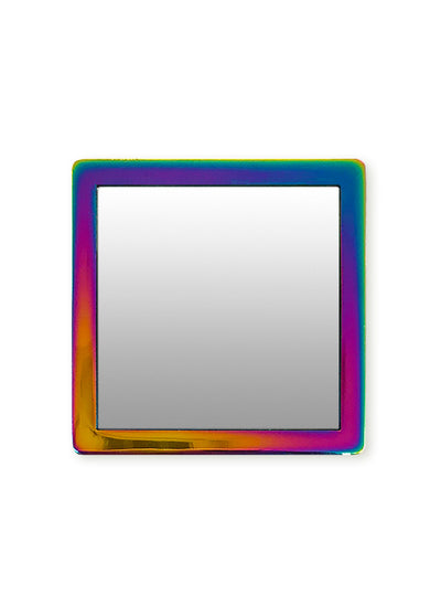 Iridescent Square Phone Mirror - Shop/Phone Mirrors - iDecoz