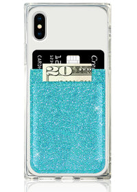 "[""Turquoise"", ""Glitter"", ""Phone"", ""Pocket""]"