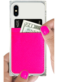 "[""Neon"", ""Pink"", ""Leather"", ""Phone"", ""Pocket""]"