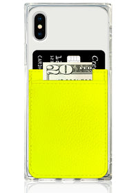 "[""Neon"", ""Yellow"", ""Leather"", ""Phone"", ""Pocket""]"