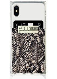Python Print Leather Phone Pocket