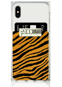 Tiger Leather Phone Pocket