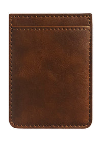 Brown Leather Phone Pocket - Shop/Phone Pockets - iDecoz