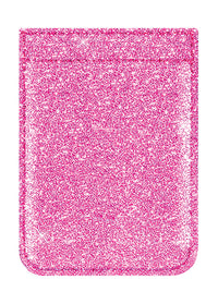 Pink Glitter Phone Pocket - Shop/Phone Pockets - iDecoz