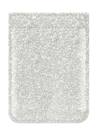 Silver Glitter Phone Pocket - Shop/Phone Pockets - iDecoz