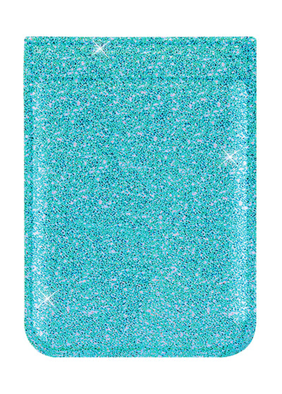 Turquoise Glitter Phone Pocket - Shop/Phone Pockets - iDecoz