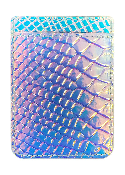 Hologram Snakeskin Leather Phone Pocket - Shop/Phone Pockets - iDecoz
