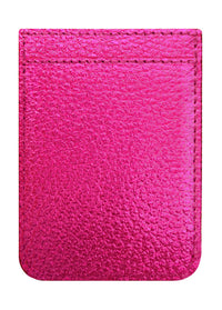 Hot Pink Leather Phone Pocket - Shop/Phone Pockets - iDecoz