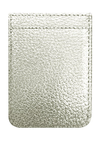 Silver Leather Phone Pocket - Shop/Phone Pockets - iDecoz