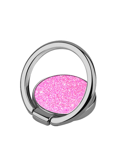 Pink Glitter Phone Ring - Shop/Phone Rings - iDecoz