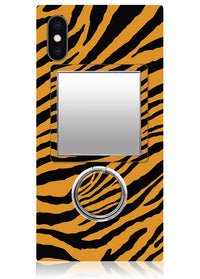 Tiger Square Phone Mirror
