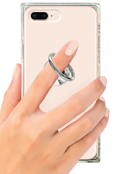 White Marble Phone Ring