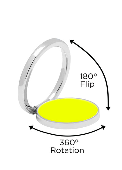 Neon Yellow Phone Ring