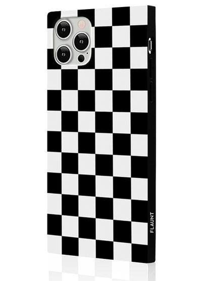 Checkered Square Phone Case #iPhone 12 / iPhone 12 Pro