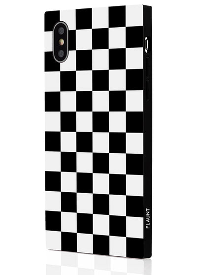 Checkered Square Phone Case #iPhone X / iPhone XS