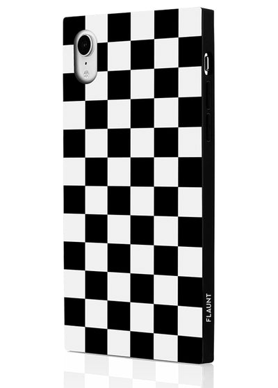 Checkered Square Phone Case #iPhone XR