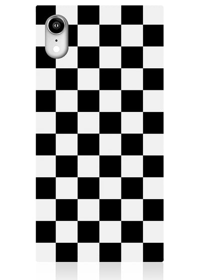 Checkered Square iPhone Case #iPhone XR