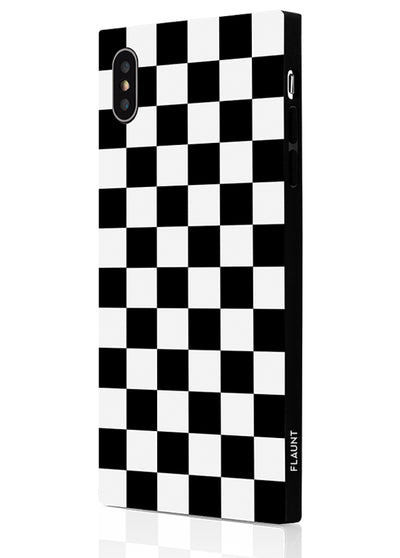 Checkered Square Phone Case #iPhone XS Max