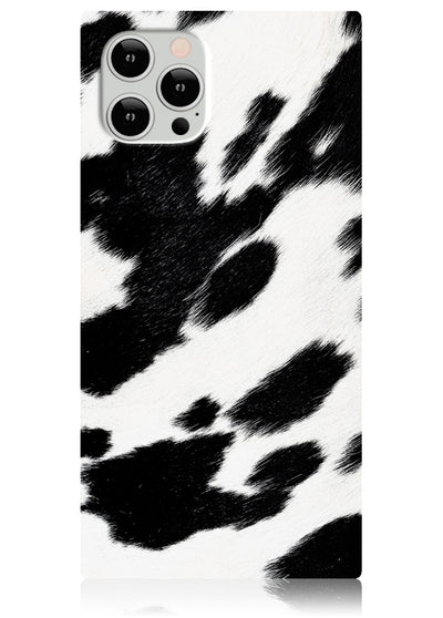 Cow Square iPhone Case #iPhone 12 / iPhone 12 Pro