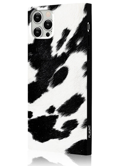 Cow Square Phone Case #iPhone 12 Pro Max