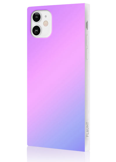 Holographic Square Phone Case #iPhone 12 Mini