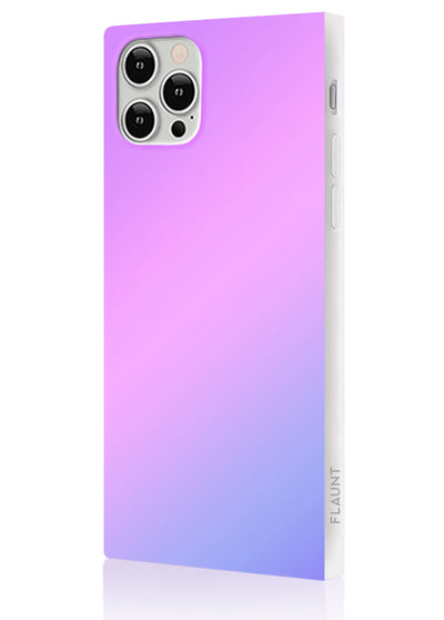 Holographic Square Phone Case #iPhone 12 / iPhone 12 Pro