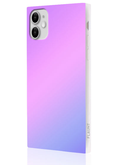 Holographic Square Phone Case #iPhone 11