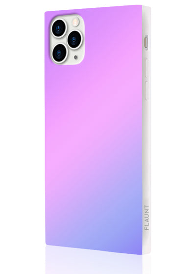 Holographic Square Phone Case #iPhone 11 Pro