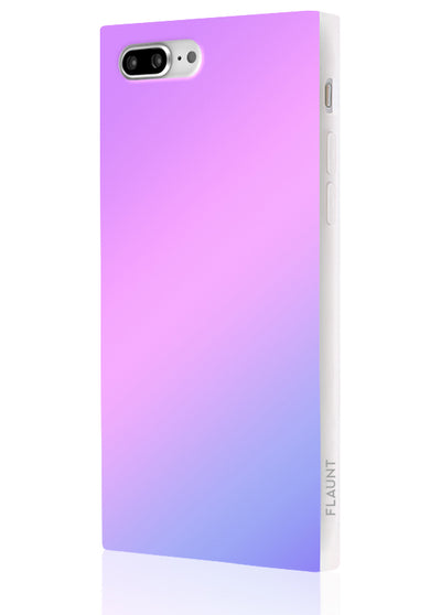 Holographic Square Phone Case #iPhone 7 Plus / iPhone 8 Plus