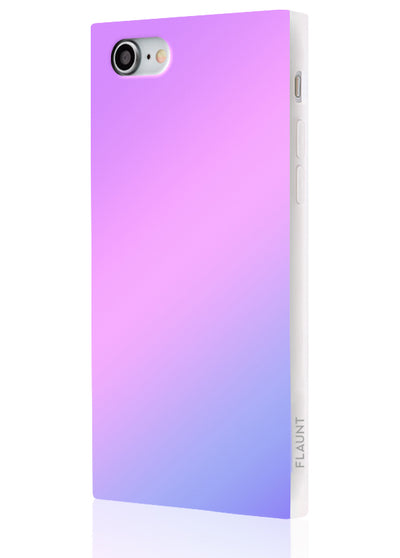 Holographic Square Phone Case #iPhone 7/8/SE (2020)