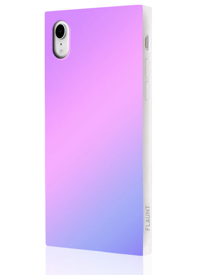 Holographic Square Phone Case #iPhone XR