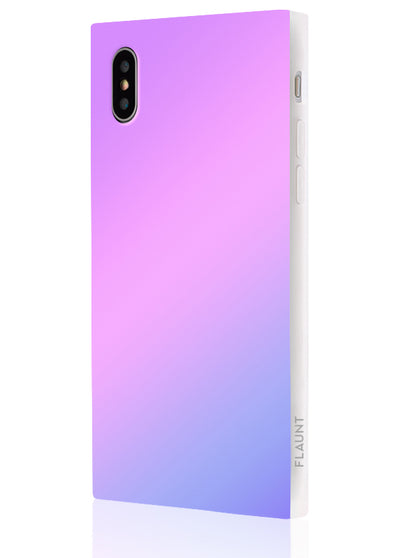 Holographic Square Phone Case #iPhone XS Max