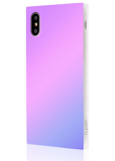 Holographic Square Phone Case #iPhone X / iPhone XS