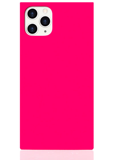 Hot Pink Square iPhone Case #iPhone 11 Pro