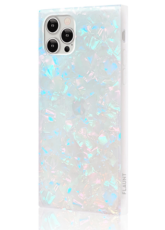 Opal Shell Square iPhone Case