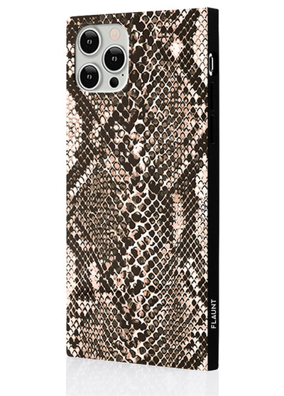 Python Square Phone Case #iPhone 12 / iPhone 12 Pro