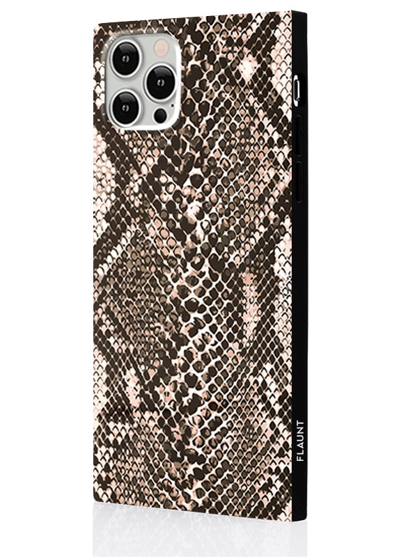Python Square iPhone Case