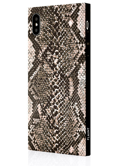 Python Square Phone Case #iPhone X / iPhone XS