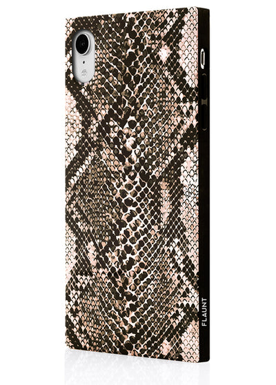 Python Square Phone Case #iPhone XR