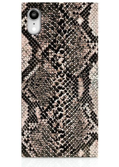 Python Square iPhone Case #iPhone XR