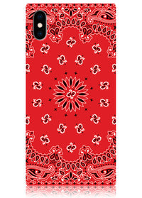 "[""Red"", ""Bandana"", ""Square"", ""iPhone"", ""Case"", ""#iPhone"", ""XS"", ""Max""]"