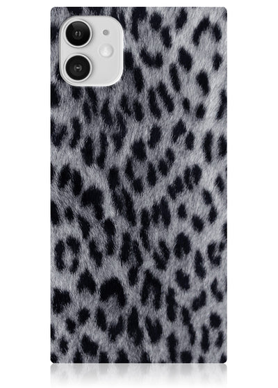 Snow Leopard Square iPhone Case #iPhone 11