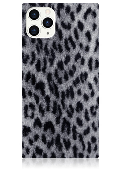 Snow Leopard Square iPhone Case #iPhone 11 Pro