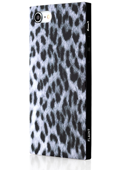 Snow Leopard Square Phone Case #iPhone 7/8/SE (2020)