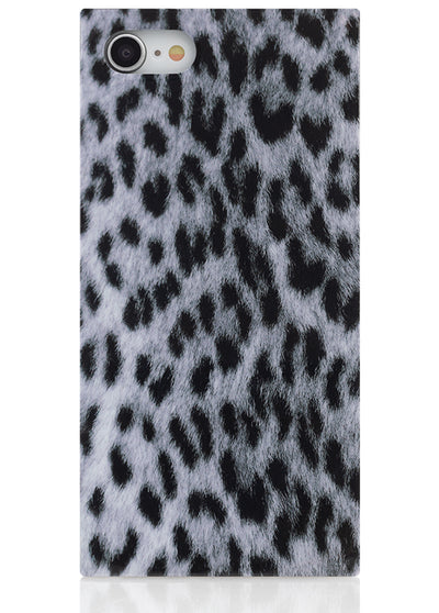 Snow Leopard Square iPhone Case #iPhone 7/8/SE (2020)