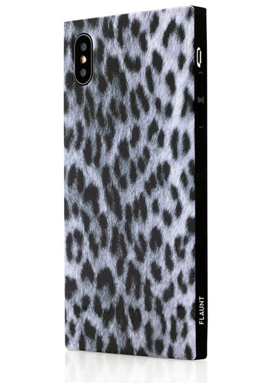 Snow Leopard Square Phone Case #iPhone X / iPhone XS