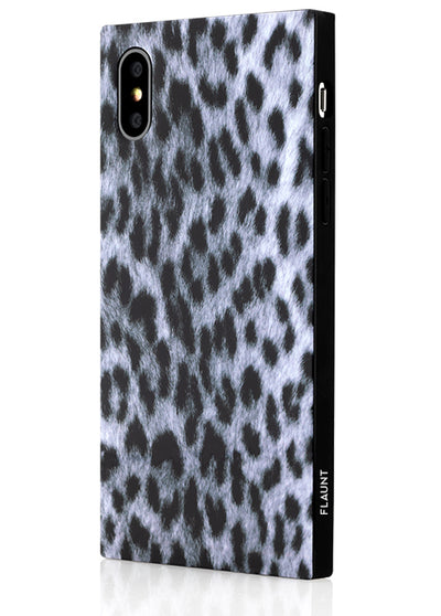 Snow Leopard Square Phone Case #iPhone XS Max