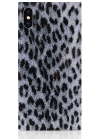 Snow Leopard Square iPhone Case #iPhone XS Max