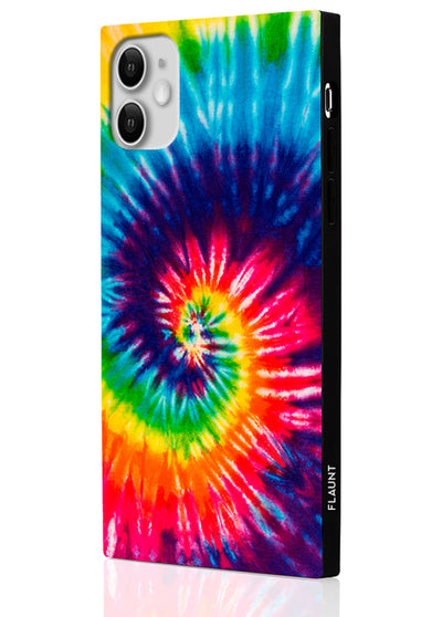 Tie Dye Square Phone Case #iPhone 11