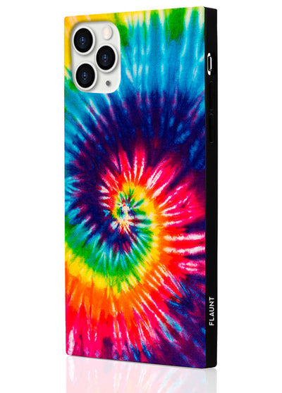 Tie Dye Square Phone Case #iPhone 11 Pro